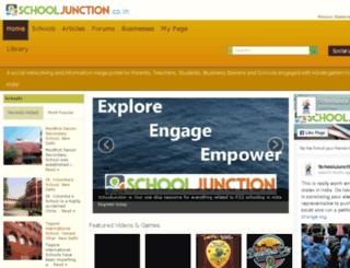 schooljunction.co.in screenshot