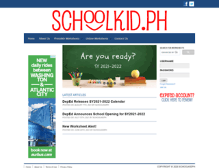 schoolkid.ph screenshot