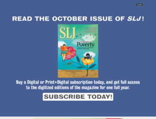schoollibraryjournal.com screenshot