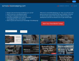 schoolofbookkeeping.com screenshot