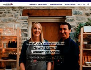schoolofnaturalskincare.com screenshot