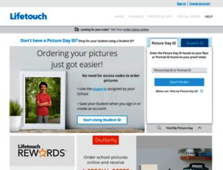 schoolportraits.lifetouch.com screenshot