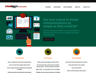 schoolpost.co.uk screenshot