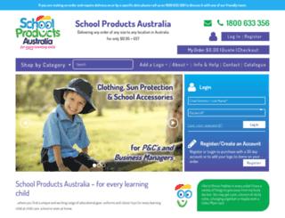 schoolproductsaustralia.com.au screenshot