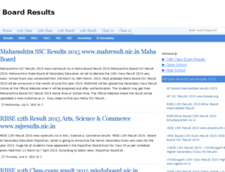 schoolresults.net screenshot