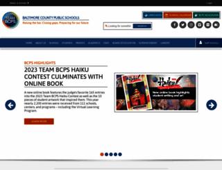 schools.bcps.org screenshot