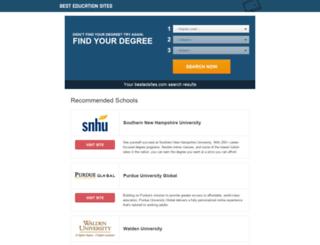 schools.bestedsites.com screenshot