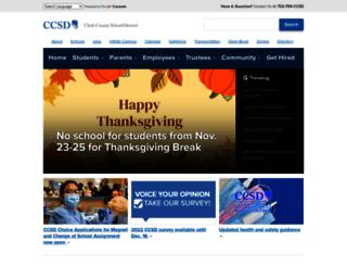 schools.ccsd.net screenshot