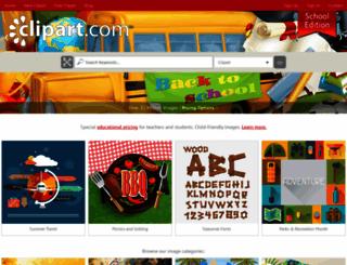 schools.clipart.com screenshot