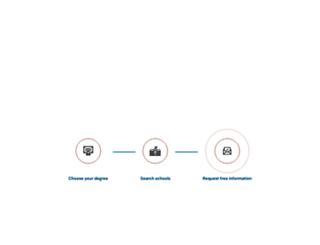 schools.collegedegrees.com screenshot