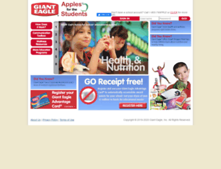 schools.gianteagle.com screenshot