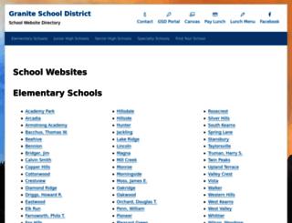 schools.graniteschools.org screenshot