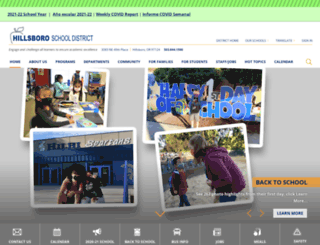 schools.hsd.k12.or.us screenshot