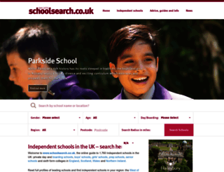 schoolsearch.co.uk screenshot