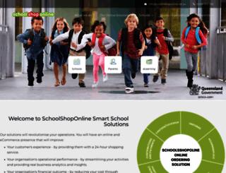 schoolshoponline.com.au screenshot