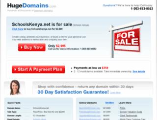 schoolskenya.net screenshot