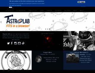 schoolsobservatory.org.uk screenshot