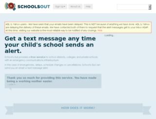schoolsout.com screenshot