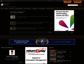 schoolsrugby.co.uk screenshot