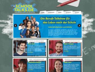 schooltalks.de screenshot