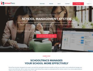 schooltracs.com screenshot