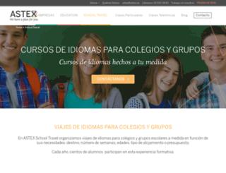 schooltravel.es screenshot