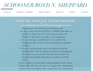 schoonerisaacevans.com screenshot