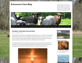 schoonoverfarm.wordpress.com screenshot