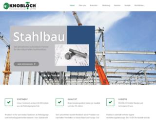 schrauben-knobloch.de screenshot