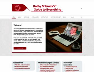 schrockguide.net screenshot