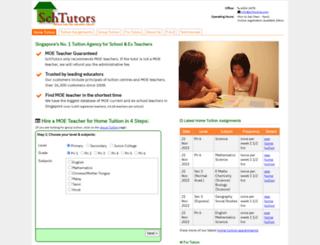 schtutors.com screenshot