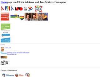 schuerrer.de screenshot