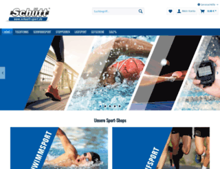 schuett-sport.de screenshot