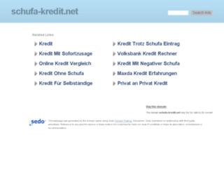 schufa-kredit.net screenshot