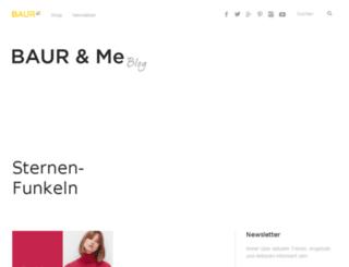 schuheblog-baur.de screenshot