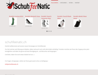 schuhfeenatic.ch screenshot