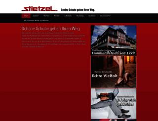schuhhaus-stietzel.de screenshot