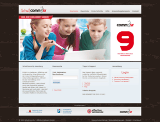 schulcommsy.de screenshot