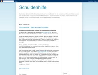 schulden-check.blogspot.com screenshot