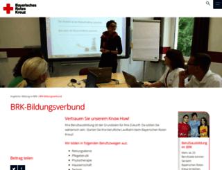 schulen.brk.de screenshot