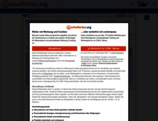 schulferien.org screenshot