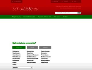 schulliste.eu screenshot
