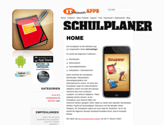 schulplaner-app.de screenshot