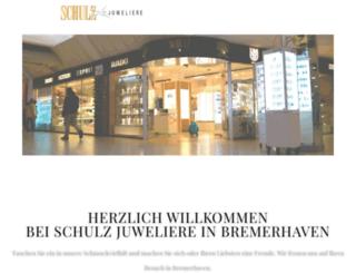 schulz-juweliere.com screenshot