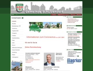 schulzendorf.de screenshot
