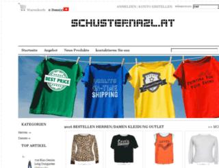 schusternazl.at screenshot