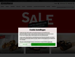 schuurman-schoenen.nl screenshot
