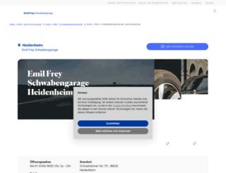 schwabengarage-heidenheim.de screenshot