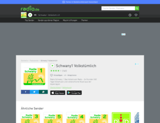 schwany1.radio.de screenshot