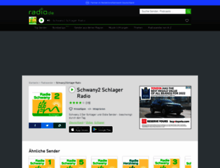schwany2.radio.de screenshot